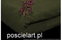 Narzuta mikrof ciemny zielony