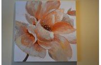 Obraz kwiat beż
