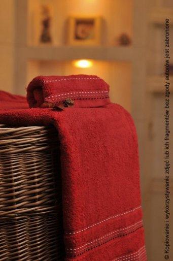 Ręcznik Pola czerwony