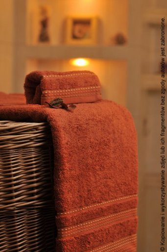 Ręcznik Pola pomarańcz