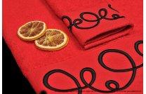 Ręcznik Orientalny czerwony