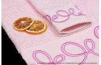 Ręcznik Orientalny róż - śliwka