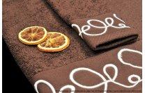 Ręcznik Orientalny brąz - krem