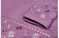 Ręcznik Kwiatek fiolet