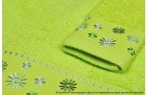 Ręcznik Kwiatek seledyn
