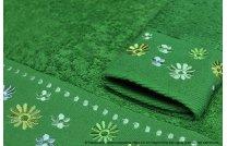 Ręcznik Kwiatek zielony