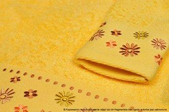 Ręcznik Kwiatek żółty