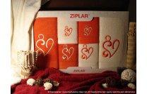 Kpl. ręczników Amor ceglasty